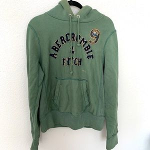 Abercrombie and Fitch distressed hoodie